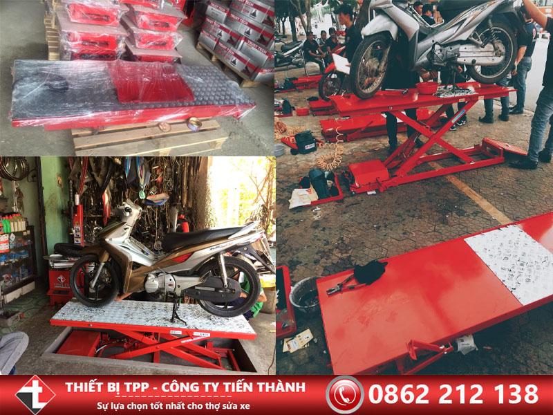 bàn nâng sửa xe, bàn nâng điện, bàn nâng sửa xe dùng điện, bàn nâng sửa xe điện cơ, bàn nâng cơ