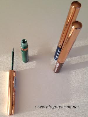 Renkli Likit Eyeliner Flormar Colorliner 3