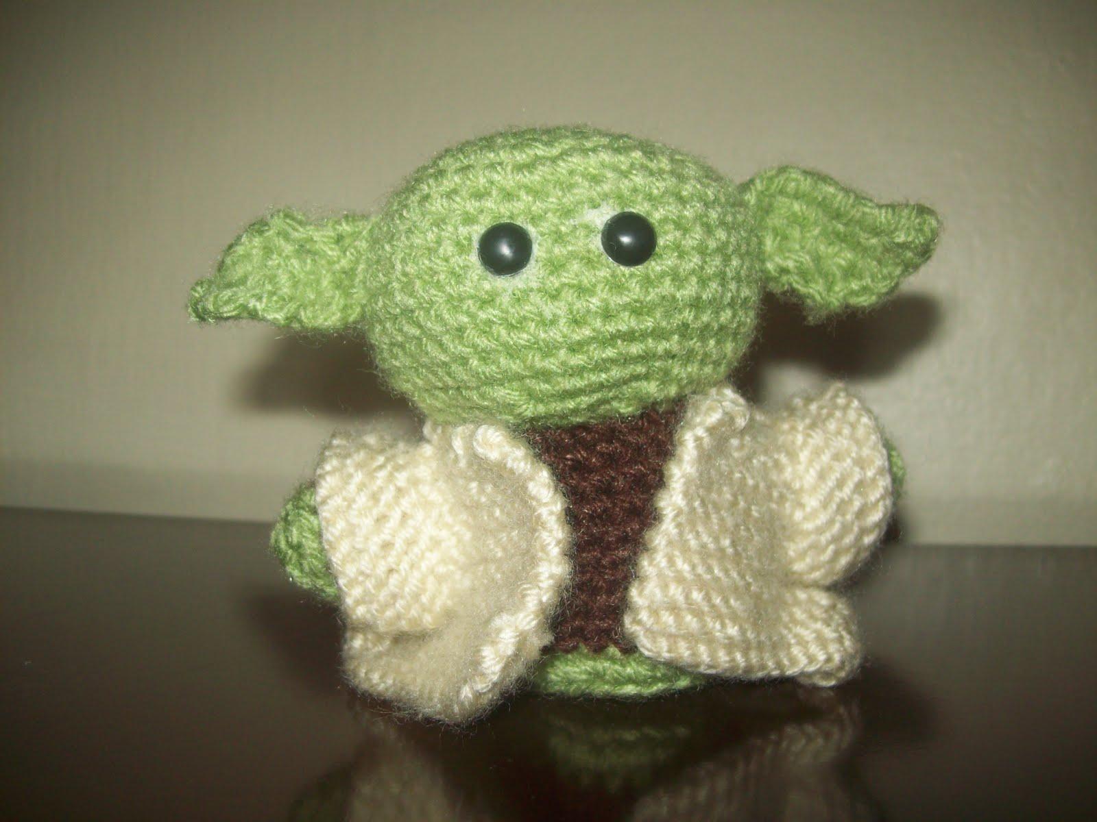 Crochet master Yoda Stuffed Green Knitted toy Amigurumi plush star ...   1200x1600