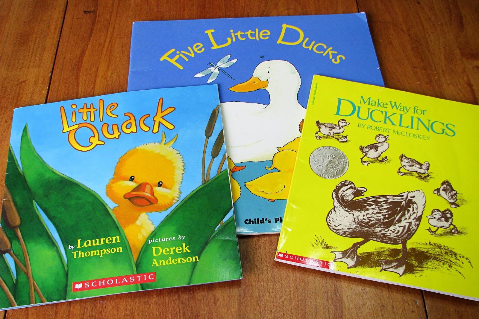 Mommy S Little Helper Letter D Ducks Preschool Theme