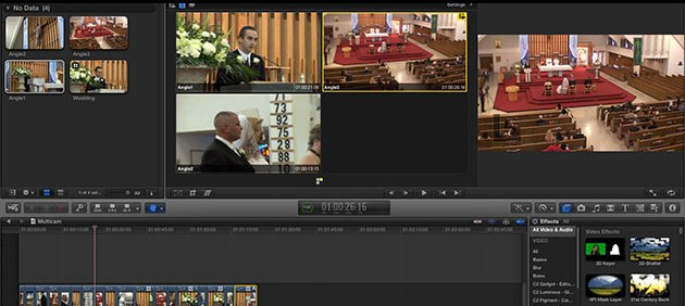 Multicam Video editing in Final Cut Pro