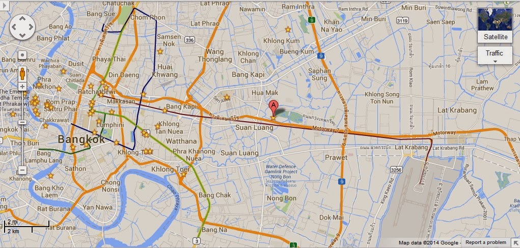 The Prasart Museum Bangkok Location Map,Location Map of The Prasart Museum Bangkok,The Prasart Museum Bangkok accommodation destinations attractions hotels map reviews photos pictures
