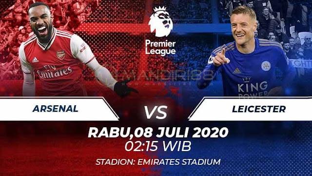 Prediksi Arsenal Vs Leicester City, Rabu 08 Juli 2020 Pukul 02.15 WIB @ Mola TV