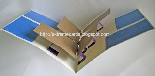 pop up photo album card