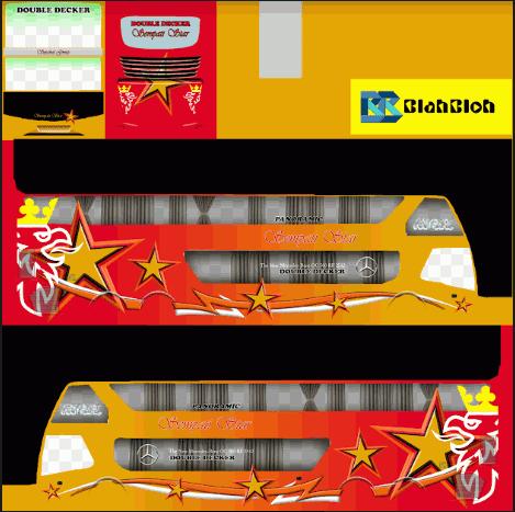 Download Livery Bussid Bimasena SDD Simpati Star