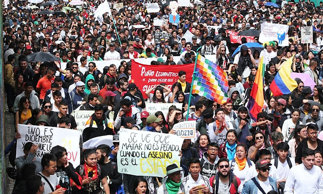 Colombia: Segundo paro nacional contra Iván Duque