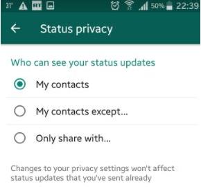 Cara Menyembunyikan Cerita WhatsApp, Status dari Orang Tertentu 2