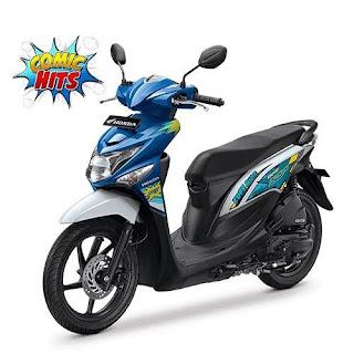 Sepeda Motor Beat Pop 2