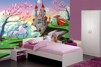 23 Top Ide Wallpaper Dinding Unicorns
