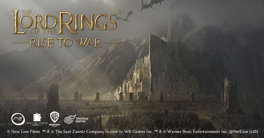 lord of the rings rise to war mobile game
