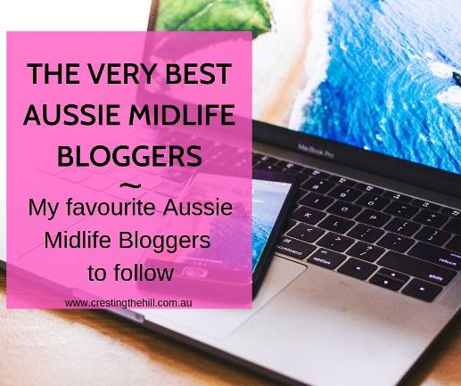 If you're a Midlife (middle aged) woman looking for blogs to inspire you and encourage you in your 50's and 60's then here are some great Aussie Midlife blogs to follow. #midlife #blogging