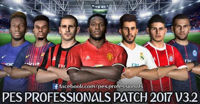 PES Professionals Patch V3.2 PES 2017