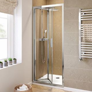 Framed Bi-fold Shower Doors