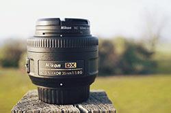 photo de l' Objectif Nikkon 35mm f1.8 pas cher et efficace