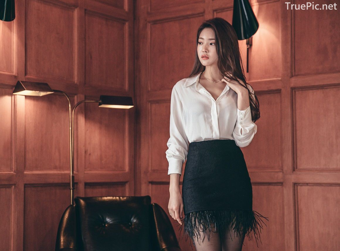 Korean Fashion Model - Park Jung Yoon - Indoor Photoshoot Collection - TruePic.net - Picture 1