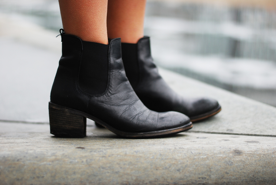 stiefel black boots