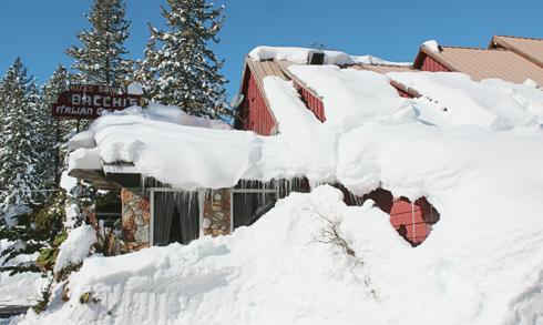 Blizzard Weather Lake Tahoe