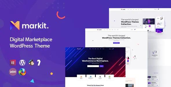 Best Digital Marketplace WordPress Theme
