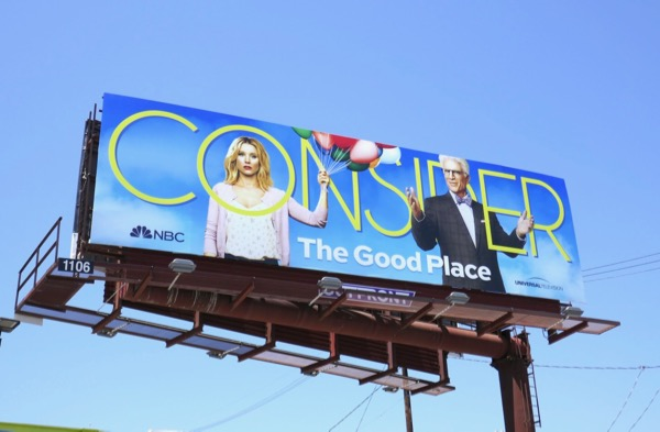 Consider Good Place 2018 Emmy billboard