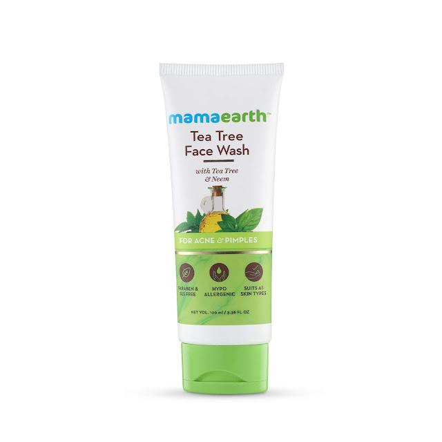 Mamaearth Tree Tea Face Wash