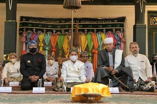 Gubernur Jabar  Hadiri Tahlilan 40 Hari Wafatnya Sultan Arief