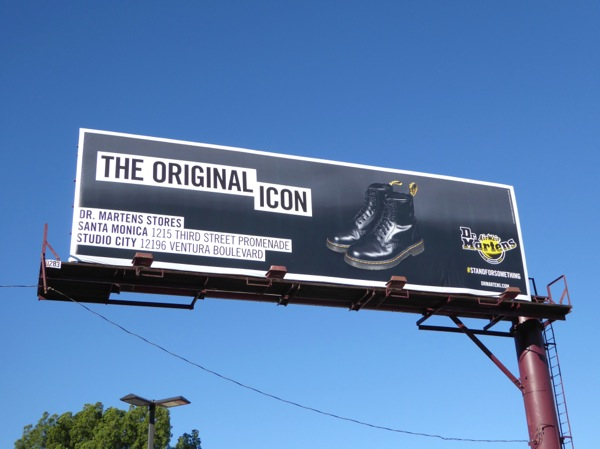 Dr Martens original icon billboard