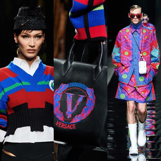 Versace Fall-Winter 2020-2021 Milan by RUNWAY MAGAZINE