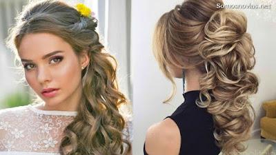 Peinado de novia moderno