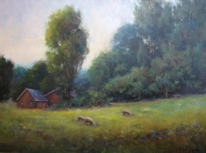 Пейзажная живопись. Tony DAmico