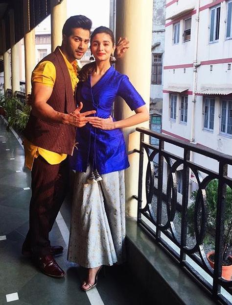 Alia Bhatt In Trench and Palazzo Dress