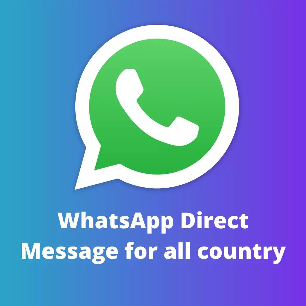 WhatsApp Direct Message