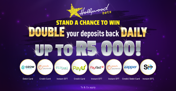 Online deposit promotion: Stand a chance to win double your deposits back daily
