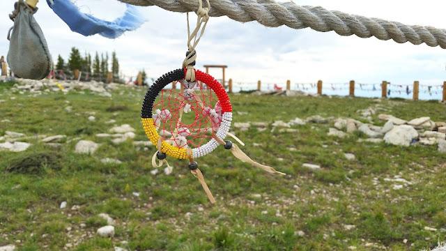 Medicine Wheel at Big Horn, Medicine Mountain.