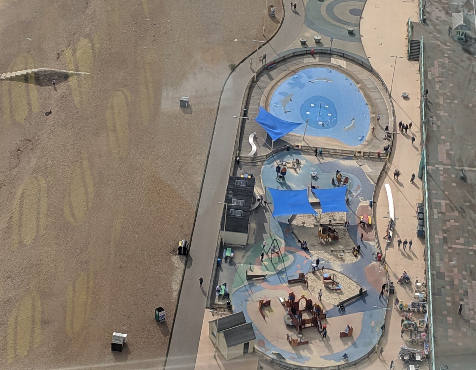 11 Top Tips for Visiting Brighton with Kids  - Beach paddling pool and playground