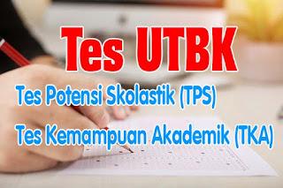 Contoh Tes UTBK TPS TKA Soshum
