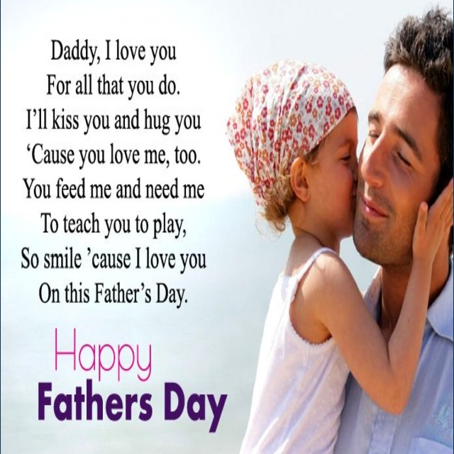 happy fathers day papa saying daughter