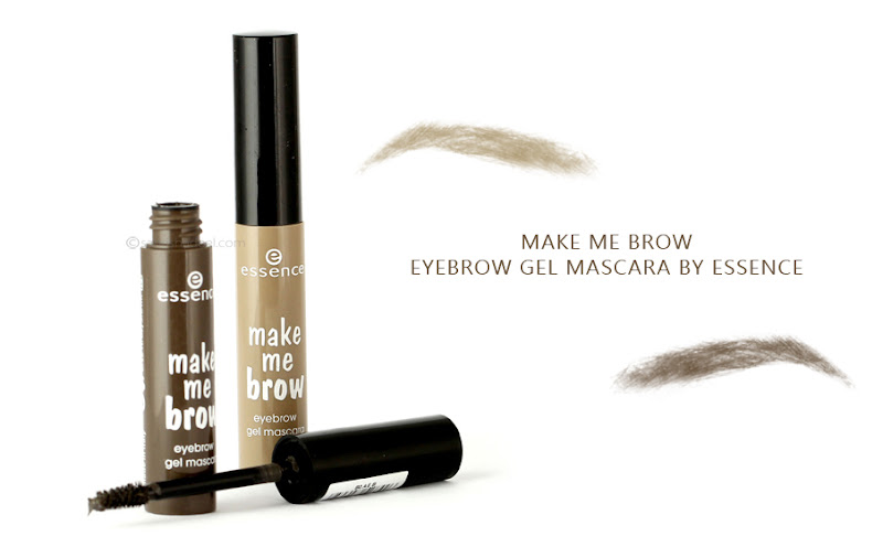 Make Me Brow Eyebrow Gel Mascara By Essence Review Swatches