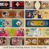 वेडिंग एल्बम कवर पेज डिज़ाइन PSD शीट्स Vol-1