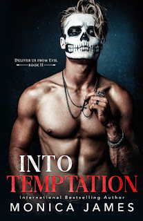 Into Temptation by Monica James book cover