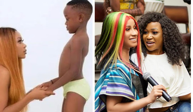 Cardi B reacts to Akuapem Poloo's 3month  jail sentence over nude photoshoot with her son