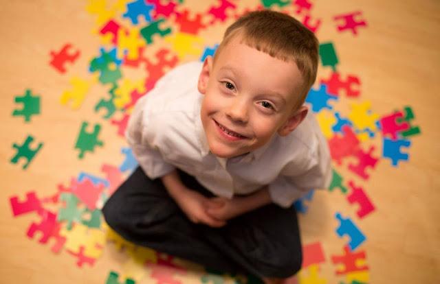 criança autista