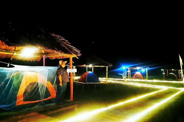 camping wisata tidur sawah pamah simelir