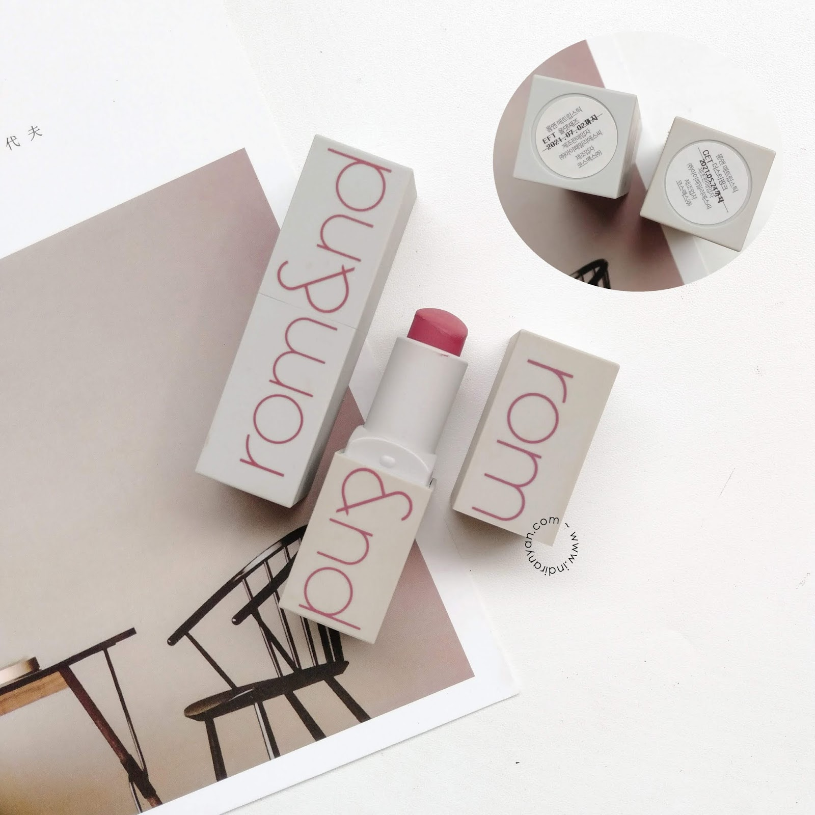 romand-zero-gram-matte-lipstick-review
