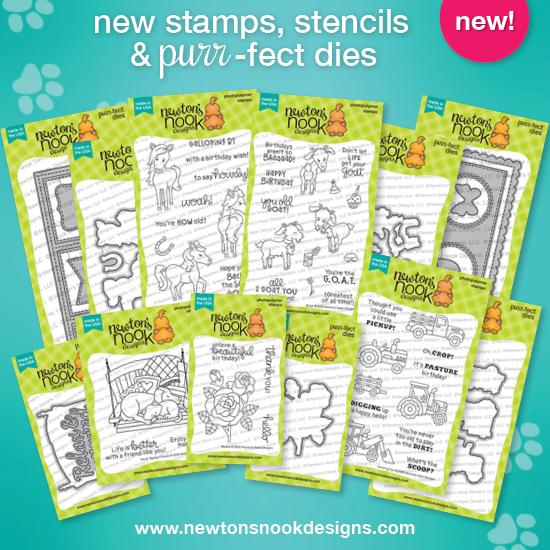 June 2020 Release | Newton's Nook Designs #newtonsnook