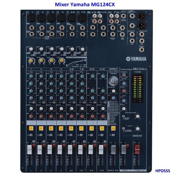 Harga Mixer Yamaha MG124CX