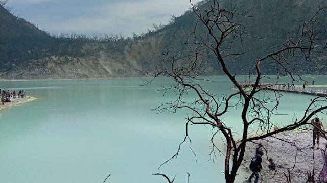 The Charming White Crater of Ciwidey Bandung