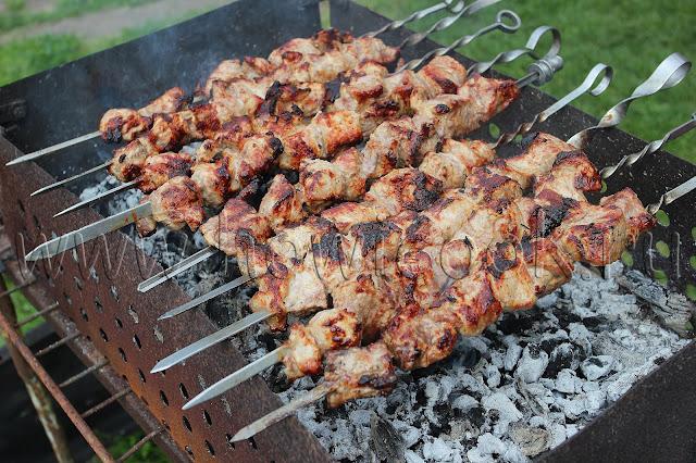 рецепт шашлыка из свинины с абхазской приправой