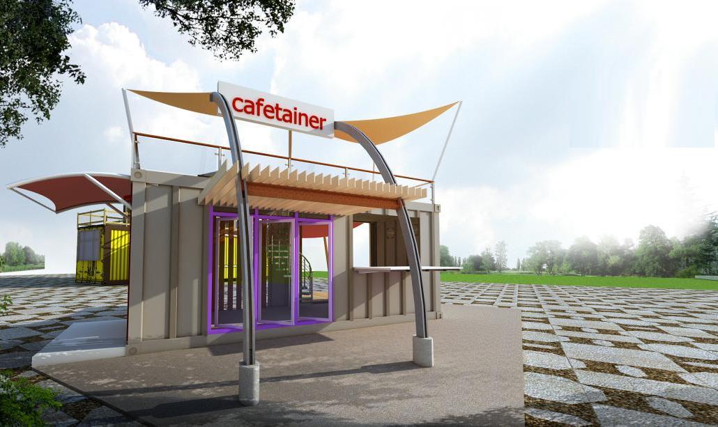 JASA INTERIOR 3D MURAH  Jasa gambar desain  out door coffe
