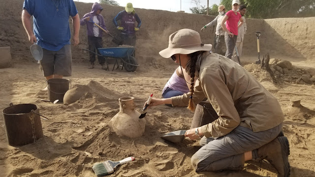Student's find in Peru offers lesson in how archaeologists piece together stories of a people