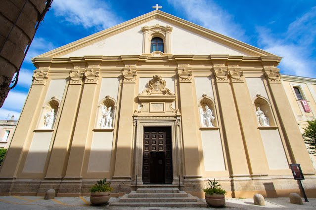 Chiesa del Gesù del Convento dei Padri Redentoristi-Esterno